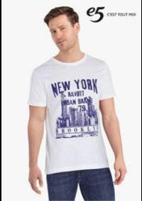 Prospectus e5 SINT-PIETERS-LEEUW : Statement T-shirts