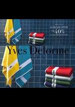 Prospectus Yves Delorme : Jusqu'à -40%
