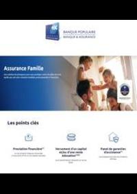 Prospectus Banque Populaire MORTEAU : Assurance Famille