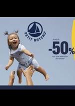 Prospectus Petit Bateau : Jusqu'à -50%
