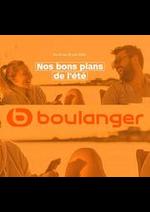 Prospectus Boulanger : Nos bons plans de l'été