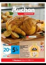 Prospectus Auchan Supermarché : Savourez pleinement l'été !