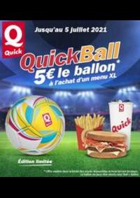 Prospectus Quick PARIS 122 avenue des Champs Elysées : Quick