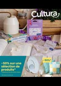 Prospectus Cultura GENNEVILLIERS : -50% collections fait maison et line art