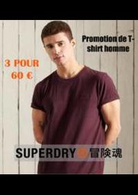 Prospectus Superdry BELLE EPINE : Promotion de T-shirt homme