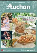 Prospectus Auchan drive : Profitez de la fête, on s'occupe du goût !