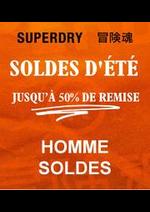 Prospectus Superdry : Homme Soldes