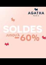 Prospectus Agatha : SOLDES JUSQU´Á - 60%