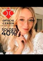 Prospectus Optical Center : Soldes 40%