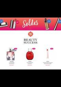Prospectus Beauty success Champagnole : Soldes