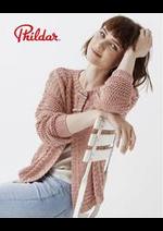 Prospectus Phildar : Le tricot c'est bio !