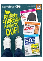 Prospectus Carrefour : Ma rentrée CARROUF à prix de OUF !