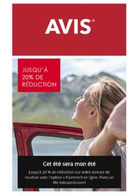 Prospectus AVIS - Dijon - Aéroport : Offres