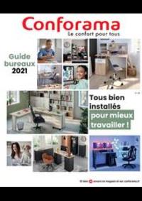 Prospectus Conforama CREIL - ST MAXIMIN : Guide Bureaux 2021