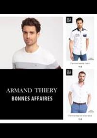 Prospectus Armand Thiery BETHUNE : Bonnes Affaires! Homme