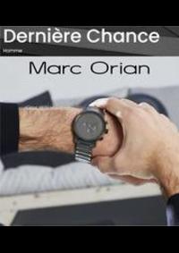 Prospectus Marc Orian Noisy-le-Grand : Dernière Chance Homme