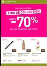 Prospectus Yves Rocher : Fins de collection : votre sélection de produits de beauté jusqu'à -70%