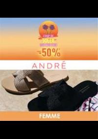 Prospectus André Pantin : Coup de soleil -50% FEMME