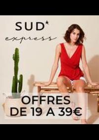 Prospectus Sud express BOULOGNE BILLANCOURT : Offres de 19 a 39€