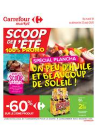 Prospectus Carrefour Market LE HAVRE 75 RUE FREDERIC BELLANGER : Un peu d'huile et beaucoup de soleil !