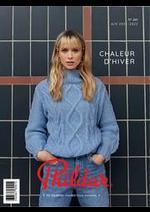 Prospectus Phildar : Catalogue Chaleur d'Hiver