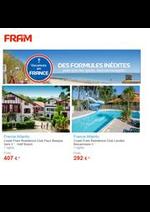 Prospectus FRAM : Offres