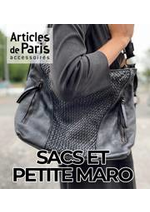 Prospectus Articles de Paris : SACS ET PETITE MARO
