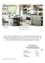 Promos et remises  : Cuisine complète et sur mesure Cascada II