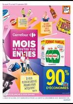 Prospectus Carrefour : Carrefour Le Mois de Toutes Vos Envies