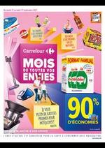 Prospectus Carrefour Drive : Carrefour Le Mois de Toutes Vos Envies