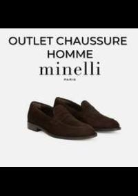 Prospectus Minelli Rosny-sous-Bois CENTRE COMMERCIAL ROSNY 2 AVENUE GÉNÉRAL DE GAULLE : OUTLET CHAUSSURE HOMME