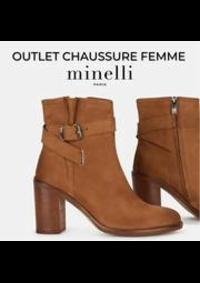 Prospectus Minelli Rosny-sous-Bois CENTRE COMMERCIAL ROSNY 2 AVENUE GÉNÉRAL DE GAULLE : OUTLET CHAUSSURE FEMME