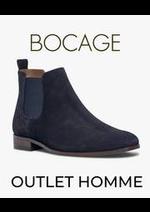 Prospectus Bocage : OUTLET HOMME