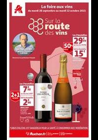 Prospectus Auchan VIGNEUX : Sur la route des vins