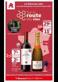 Prospectus Auchan SARCELLES Division Leclerc : Sur la route des vins