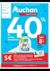 Prospectus Auchan ISSY LES MOULINEAUX : Tout pour le grand ménage d'automne !