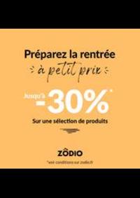 Prospectus Zôdio MASSY : Offres