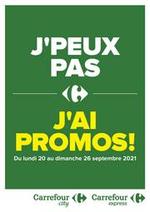 Prospectus Carrefour city : J'PEUX PAS J'AI PROMO !