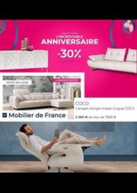 Prospectus Mobilier de France ROSNY SOUS BOIS : Anniversaire -30%