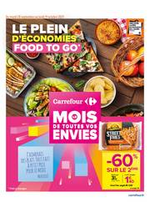 Promos et remises  : LE PLEIN D'ECONOMIES FOOD TO GO