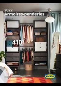 Prospectus IKEA PARIS - FRANCONVILLE : Armoires-penderies 2022