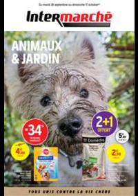 Prospectus Intermarché Hyper Thonon-Les-Bains : EVEN ANIMALERIE JARDIN SEPTEMBRE