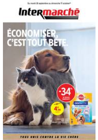 Prospectus Intermarché Super Allinges : EVEN ANIMALERIE JARDIN SEPTEMBRE