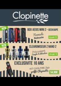 Prospectus Clopinette ASNIERES SUR SEINE : TOUS LES PRIX