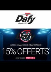 Prospectus DAFY MOTO MULHOUSE : Les French Days