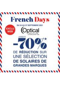 Prospectus Optical discount Aubervilliers : French Days