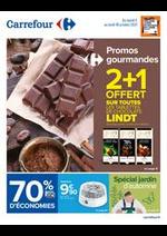 Promos et remises Carrefour : Promos Gourmandes