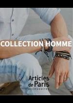 Prospectus Articles de Paris : Collection Homme