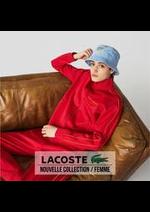 Catalogues et collections Lacoste : Nouvelle Collection  Femme