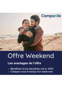 Prospectus Campanile Restaurants Sochaux : Campanile Offre Weekend